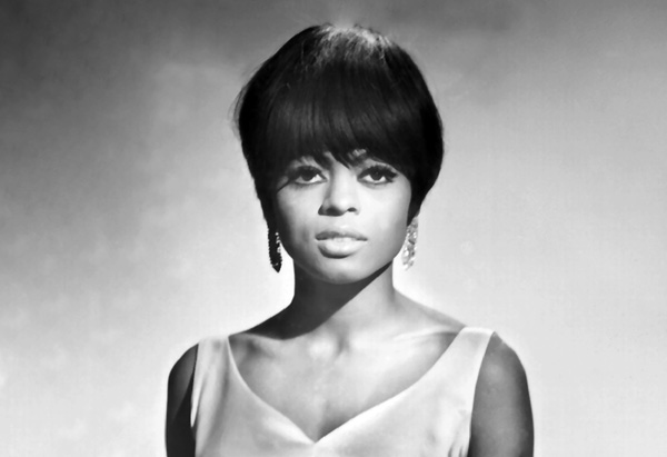 Diana Ross in the 1960s