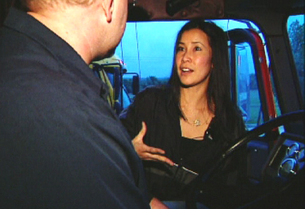 "Lisa Ling visits ""Party Row"""