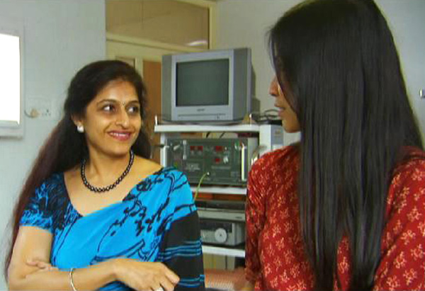 Lisa Ling at the IVF Clinic in India