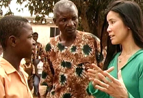 Lisa Ling in Ghana
