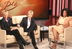 Meredith Baxter and her partner, Nancy