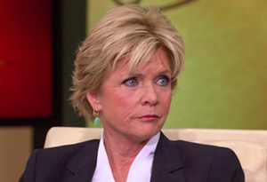 Meredith Baxter and her ex-husband David Birney