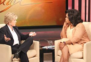 Meredith Baxter and Oprah