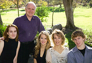 Marie Walsh and family
