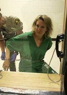 Marie in prison