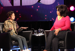 Oprah and Willow Smith