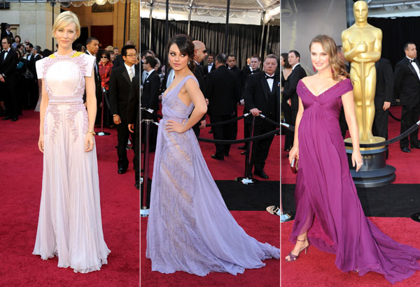 Cate Blanchett, Mila Kunis, Natalie Portman