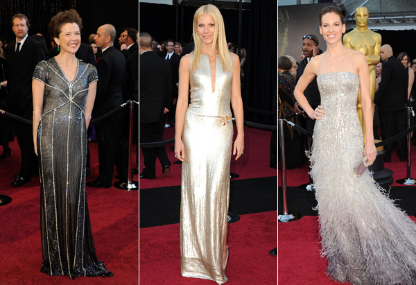 Annette Benning, Gwyneth Paltrow, Hilary Swank
