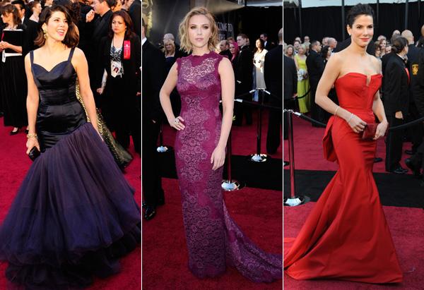 Marisa Tomei, Scarlett Johansson and Sandra Bullock