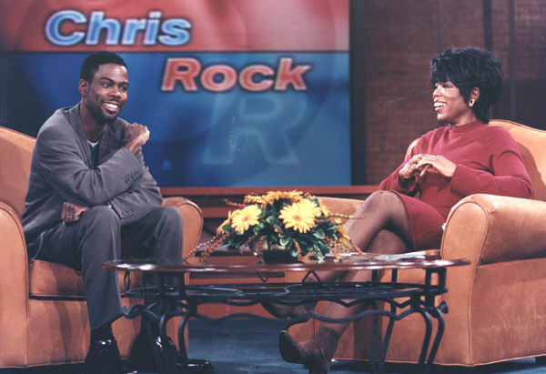 Chris Rock and Oprah in 1997