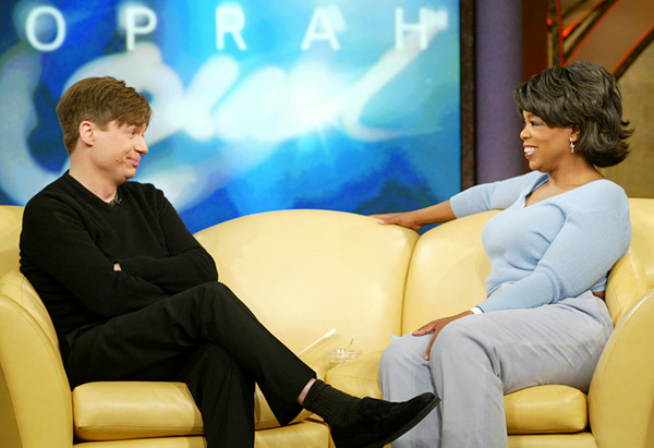 Mike Myers and Oprah