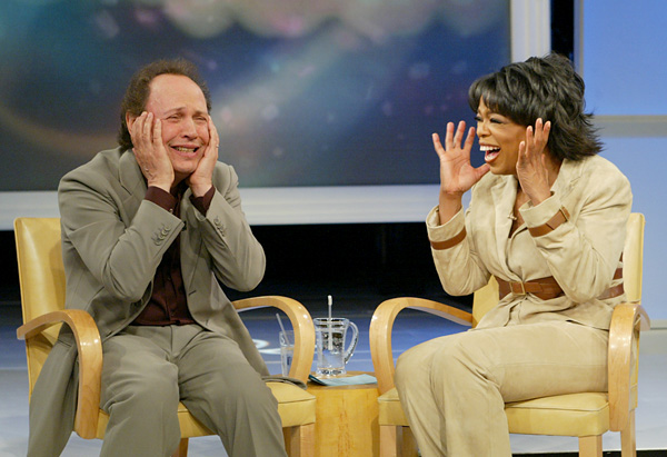 Billy Crystal and Oprah