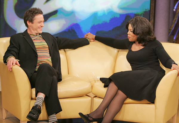 Robert Downey Jr. and Oprah