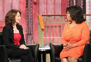 Tina Fey and Oprah