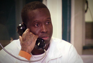 Carolyn's attacker Terrence Kelly in prison