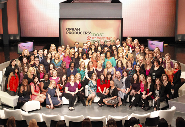 Oprah and her producers