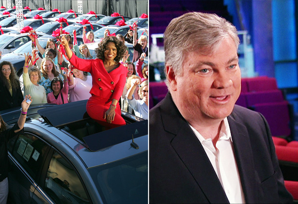 Oprah's car giveaway surprise