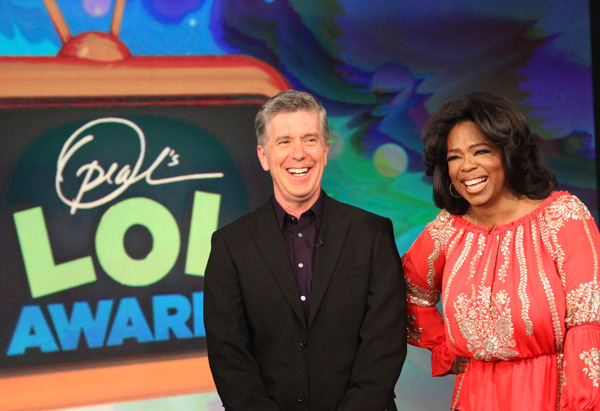 Oprah and Tom Bergeron