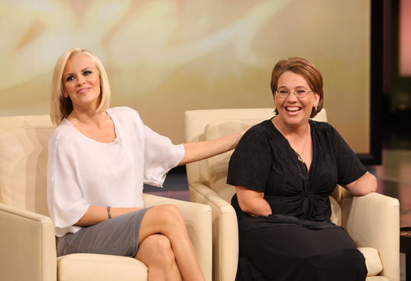 Jenny McCarthy and Monica Jorge