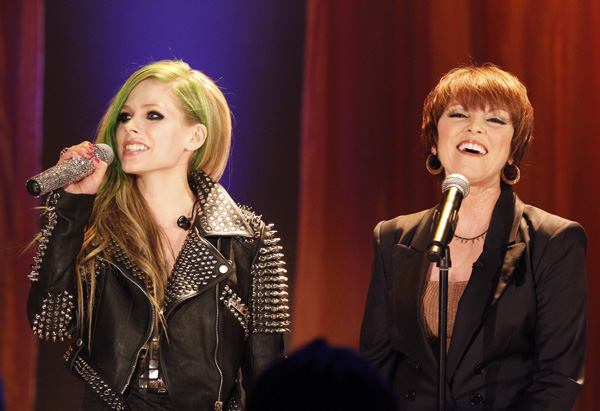 Pat Benatar and Avril Lavigne