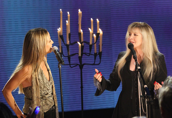 Stevie Nicks and Sheryl Crow