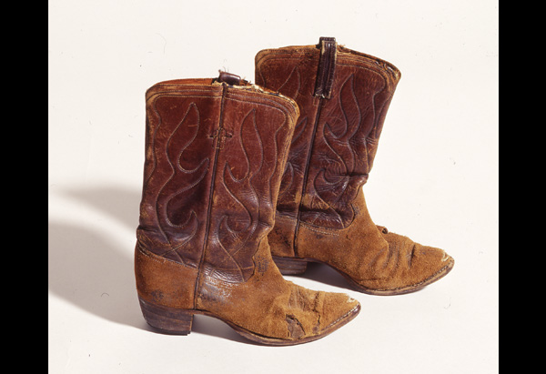 Michelle Phillips of the Mamas and the Papas' boots