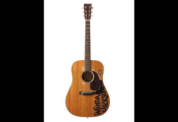 Wanda Jackson acoustic guitar