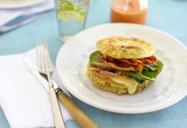 Sheryl Crow's Fried Green Tomato 'BLT' recipe