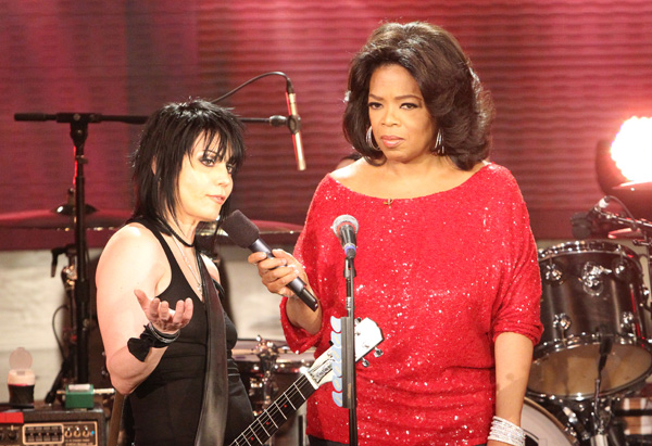 Joan Jett and Oprah