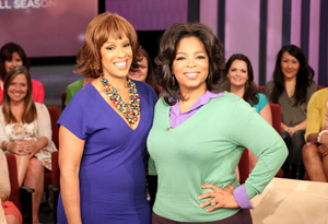 Gayle and Oprah