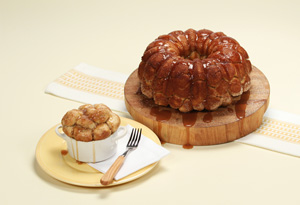 Easy Monkey Bread with Caramel Sauce