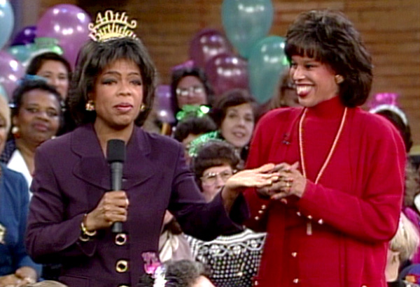 Oprah and Gayle in 1994