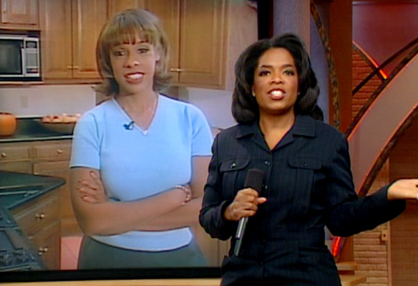 Gayle and Oprah in 1998