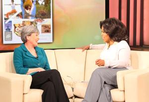 Oprah and Kris