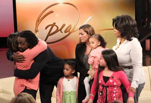 Oprah, the Tillmans, Magali and Akary