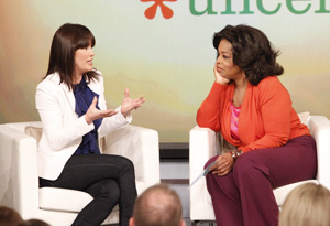 Sally Lou Loveman and Oprah