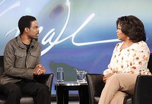 Chris Rock and Oprah
