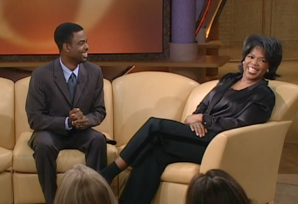 Chris Rock and Oprah