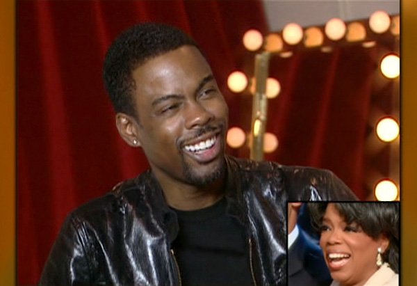 Chris Rock's birthday greeting to Oprah