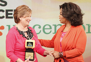 Sue and Oprah