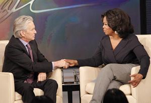 Michael Douglas and Oprah