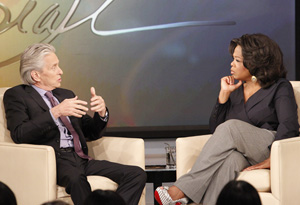 Michael Douglas and Oprah