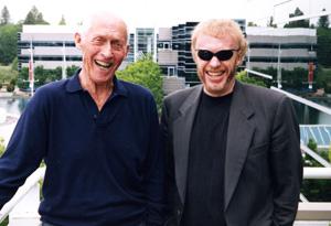 Phil Knight and Bill Bowerman