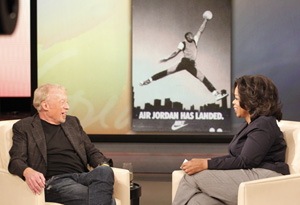 Phil Knight and Oprah