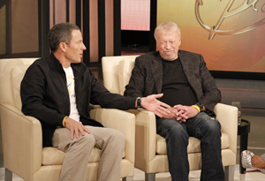 Lance Armstrong, Phil Knight and Oprah