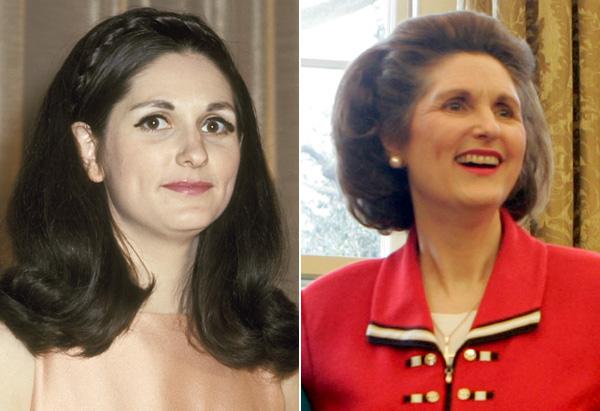 Lynda Bird Robb in 1970 and 2007