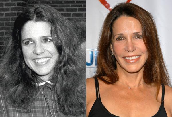 Patti Davis in 1982 and 2005