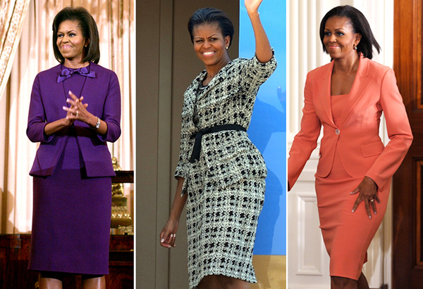 Michelle Obama's style - suits