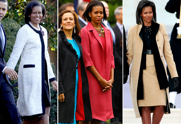 Michelle Obama's style - coats
