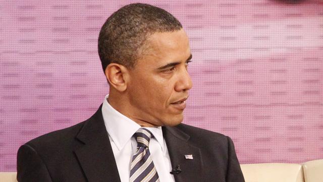 Oprah Winfrey Interviews Barack Obama